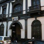 Fachada de la casa donde nació San Martín de Porres, actualmente sede de la casa Hogar que lleva su nombre y en donde se realizan actividades de bien social.