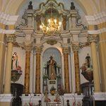 Altar dedicado a San Martín de Porres levantado en el lugar donde estuvo su celda - Basílica y convento de Santo Domingo, Lima.