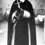 Pintura anónima de San Martín de Porres.