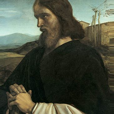 Pintura de San José por William Dyce.