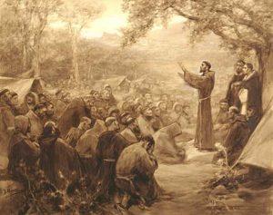 Capítulo de las esteras, obra del pintor español José Benlliure