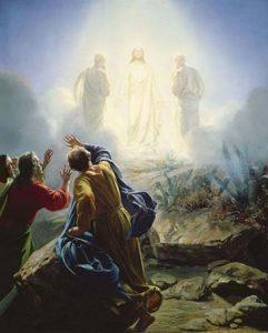 Transfiguración de Jesús, de Carl Bloch