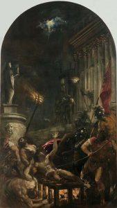 El martirio de san Lorenzo (1558), por Tiziano