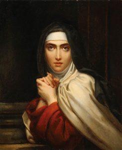 Santa Teresa, por François Gérard.