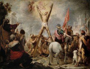 El martirio de San Andrés es una obra de Bartolomé Esteban Murillo pintada entre 1675 y 1682, expuesta en el Museo del Prado.
