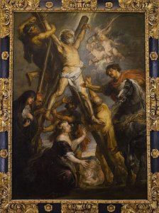 El cuadro fue encargado a Rubens por Jan van Vucht, un flamenco que residía en Madrid y a su muerte en 1639 legó el cuadro por testamento al Hospital de San Andrés de los Flamencos. — con Toni Fretes.