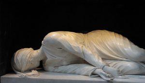 El martirio de Santa Cecilia, de Stéfano Maderno (1576-1636), en la Basílica de Santa Cecilia, en Roma