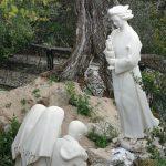 En Valinhos, el monumento de una aparición del Ángel de Portugal (o Ángel de la Paz) a los tres pastorcitos