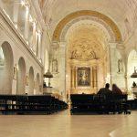 Interior de la Basílica del Santuario de Nuestra Señora de Fátima.