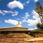 Imagen actual del Santuario María Auxiliadora de Asunción, Paraguay.