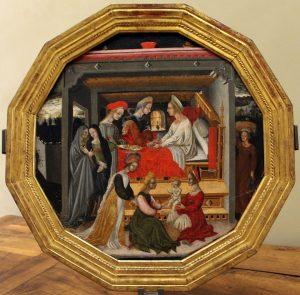 Plato de nacimiento. Siena, c. 1420–40