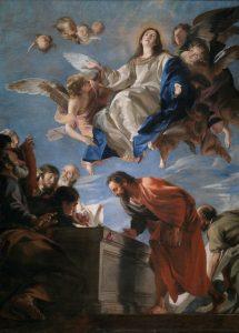 La Asunción de la Virgen Óleo sobre lienzo. Hacia 1665 CABEZALERO, JUAN MARTÍN