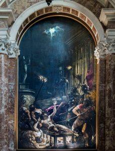 El martirio de san Lorenzo (1558), por Tiziano.