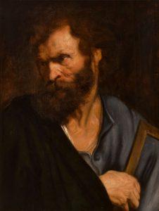 El apóstol Judas Tadeo (c. 1619/1621), de Anton van Dyck. Museo de Historia del Arte de Viena.