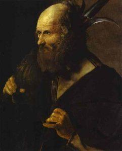 San Judas Tadeo (c. 1615-1620), de Georges de La Tour. Museo Toulouse-Lautrec, Albi, Francia.