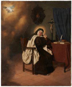 Santa Teresa de Jesús Óleo sobre lienzo. 1882 JADRAQUE Y SÁNCHEZ OCAÑA, MIGUEL