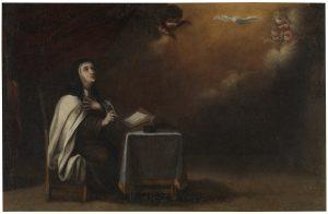 Santa Teresa de Jesús Óleo sobre lienzo. Segunda mitad del siglo XVII ANÓNIMO