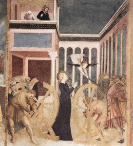 Martirio de Santa Catalina, cuadro de Masolino da Panicale.