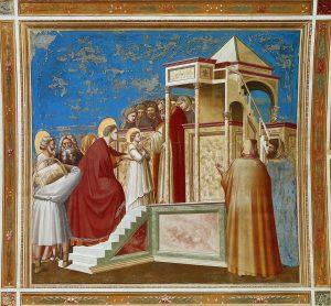 Presentación de la Virgen en el Templo (Giotto), c. 1303-1306.