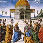 Cristo entrega las llaves a San Pedro