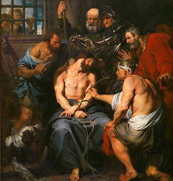 Coronación de Espinas , de Van Dyck