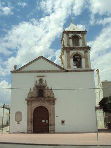 Templo de Santa Rita de Casia en Cd. Chihuahua, construidp en 1731.